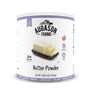 Augason Farms Butter Powder 2 lbs 4 oz No. 10 Can
