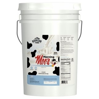 Augason Farms 6-Gallon Morning Moo's Low Fat Milk Alternative Pail