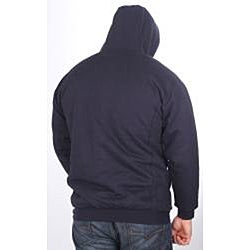 Farmall IH Men's Big/Tall Sherpa Lined Navy Hoodie - Thumbnail 1