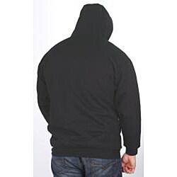 Farmall IH Men's Big/Tall Sherpa Lined Black Hoodie