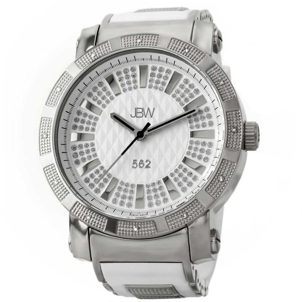 JBW Men's '562' Pave Dial Diamond Watch