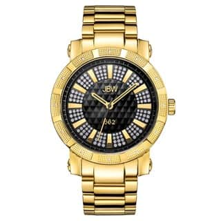 Jbw Men'S Oversized '562' Stainless Steel Swiss Quartz Diamond Watch|https://ak1.ostkcdn.com/images/products/6635658/P14199903.jpg?impolicy=medium