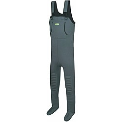 Pro Line Wild Water Neoprene Stocking Waders with Hand-warmer Pocket