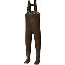 Pro Line Marsh Creek Dark-brown Neoprene Waders with Release Buckles
