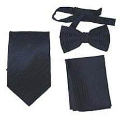 Ferrecci Men's 4-piece Vest Tie Accessory Set - Thumbnail 2