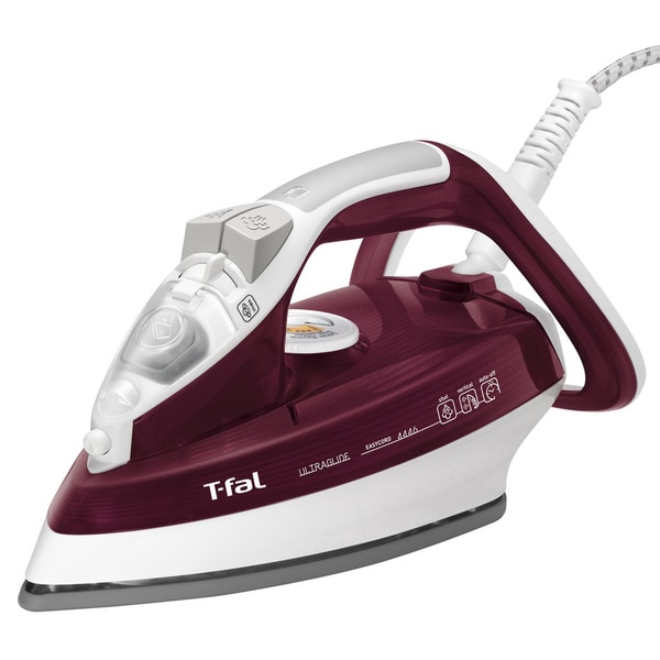 T-Fal FV4446 Red Ultraglide Easycord Iron