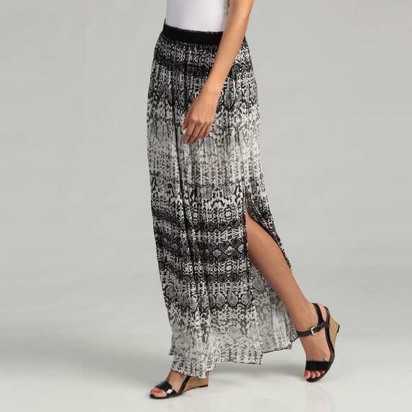 Kenneth Cole Women's Print Knit Maxi Skirt FINAL SALE