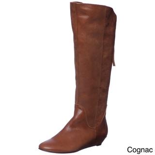 Steven by Steve Madden Women's 'P-Ilana' Leather Riding Boots FINAL SALE