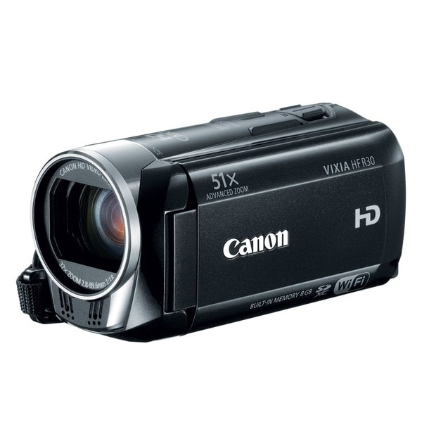 Canon Vixia HF R30 8GB HD Digital Camcorder