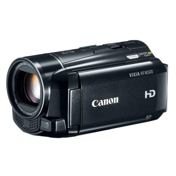 Canon Vixia HF M500 HD Digital Camcorder