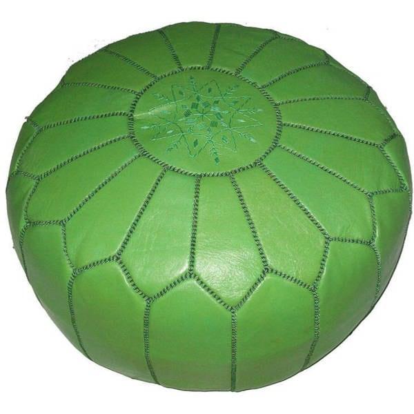 Pistachio Green Leather Sofa: Shop Handmade Moroccan Pistachio Contemporary Leather