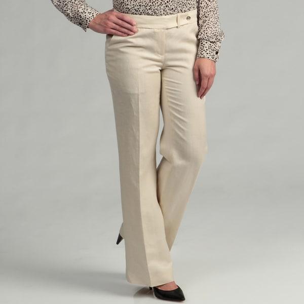 Calvin Klein Women's Linen Pants