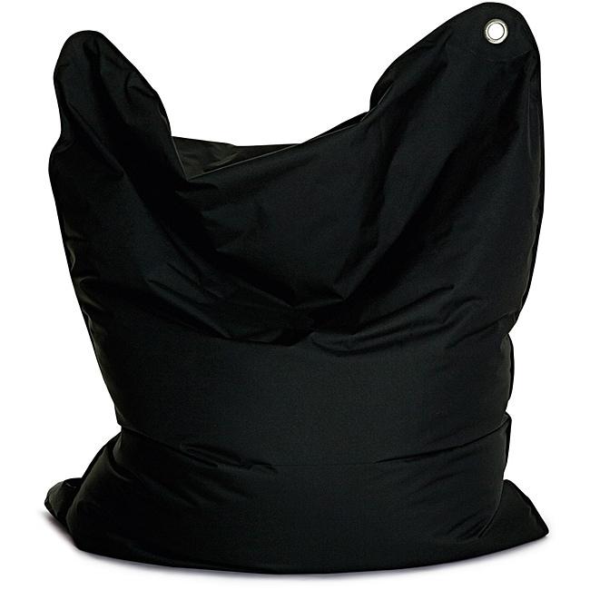 Sitting Bull 'Bull' Black Adult Bean Bag Chair