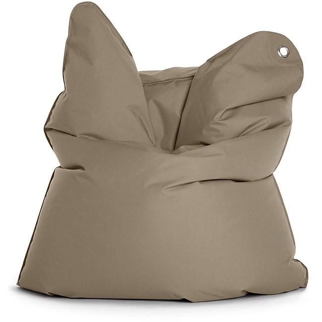 Sitting Bull The Bull Grey Brown Bean Bag