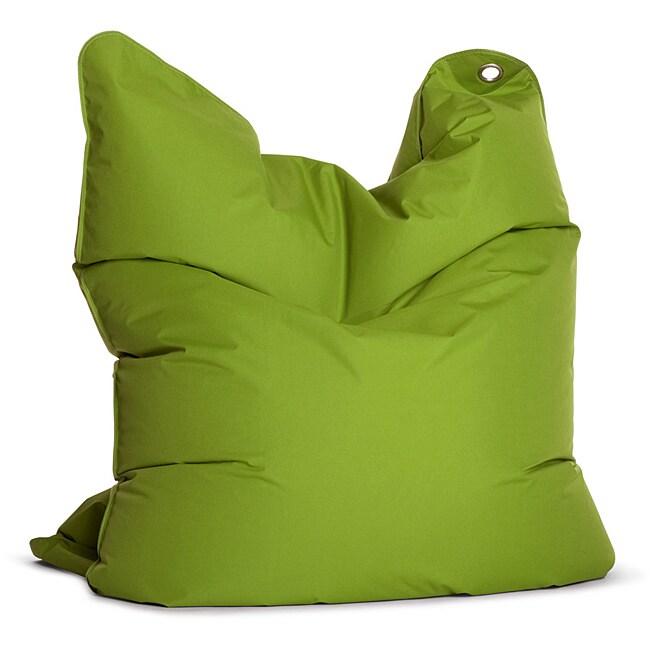 Sitting Bull The Bull Green Bean Bag Chair
