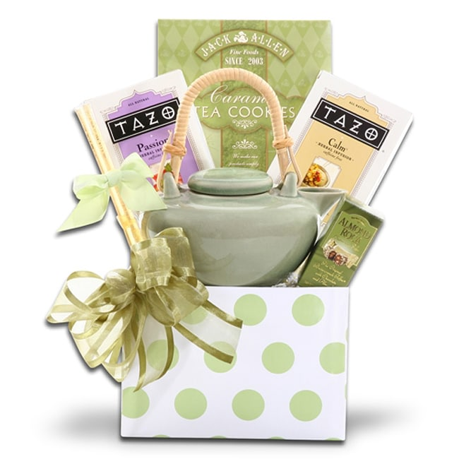 Alder Creek Gift Baskets Tazo Tea Gift Set - Thumbnail 0