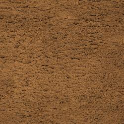 Hand-woven Brown Ashford Plush Shag Wool Rug (8' x 10'6 ) - Thumbnail 1