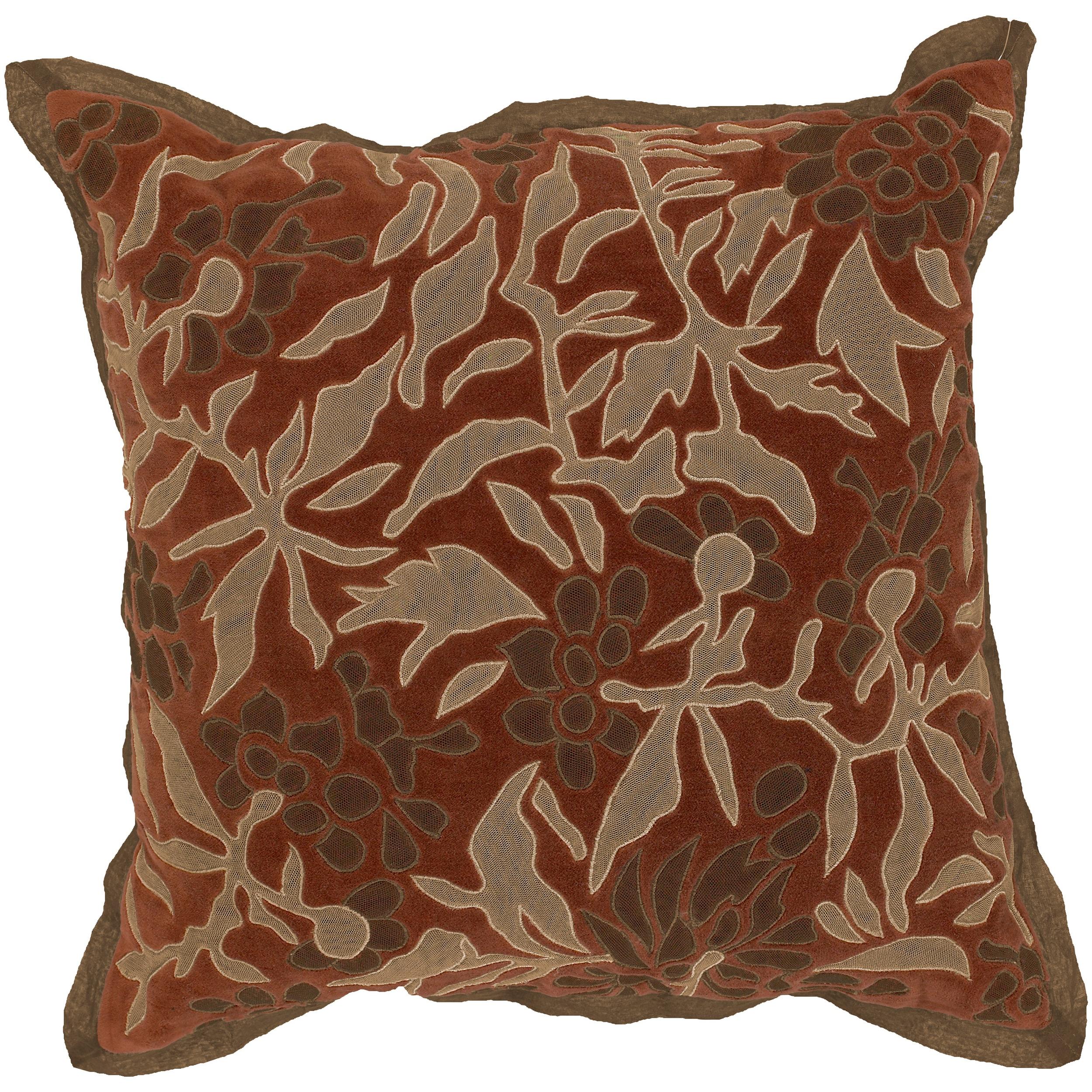 Decorative Vesta 18-inch Down Pillow