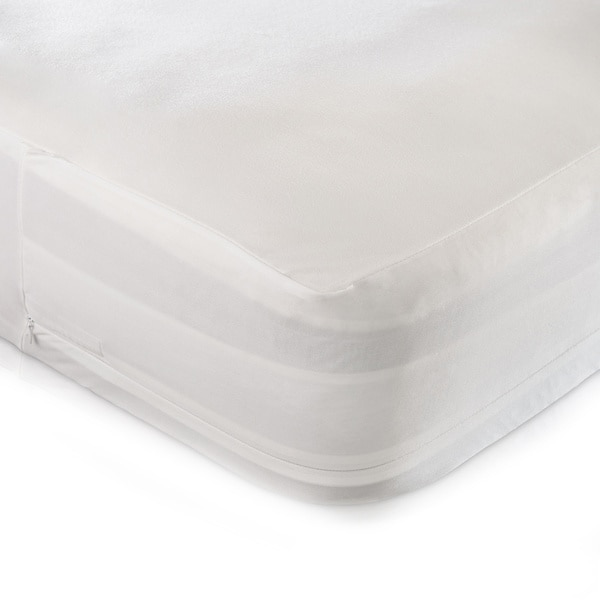 Christopher Knight Home Smooth Organic Cotton Waterproof Bed BugProtector  Encasement