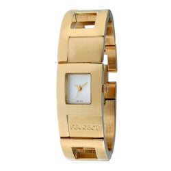 Peugeot Women's Goldtone Cuff Watch