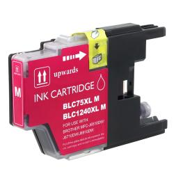 Insten Magenta Non-OEM Ink Cartridge Replacement for Brother LC75M/ LC71M