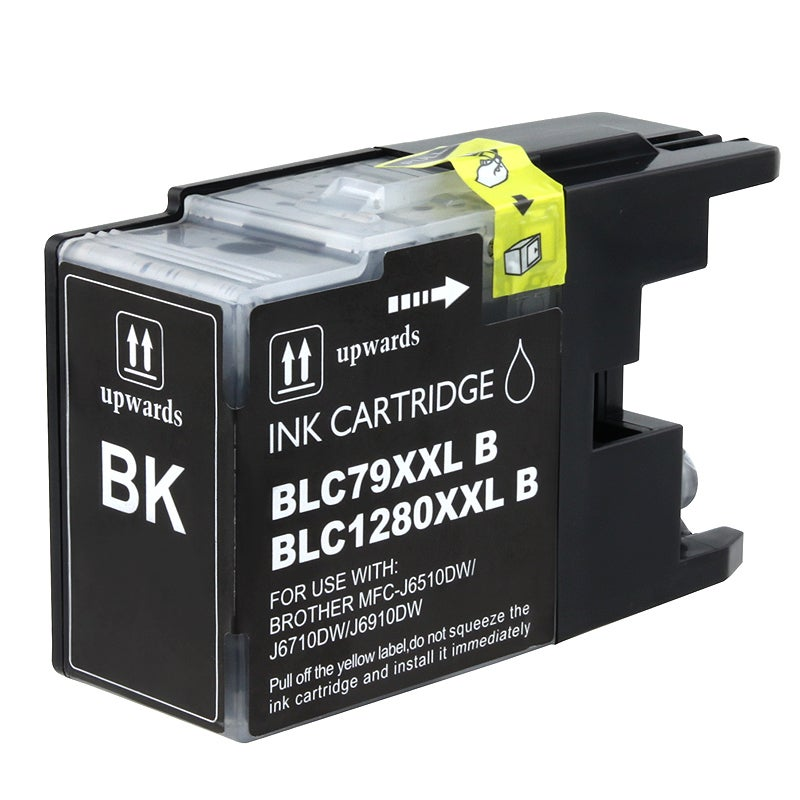 INSTEN Brother compatible LC79BK Extra High-yield Black Ink Cartridge