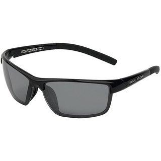 Body Glove 'Brighton' Men's Black/Smoke Polarized Mirrored Sunglasses