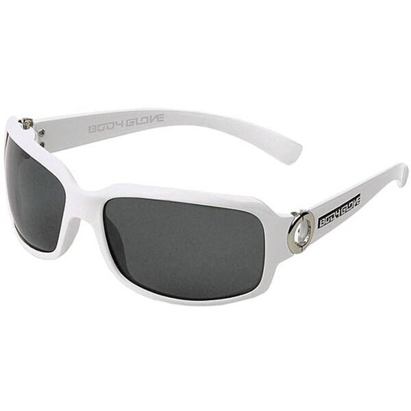 Body Glove 'Palauea C' Women's White Polarized Sunglasses