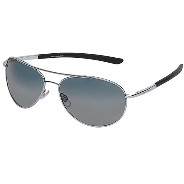 17e757a7d9a Shop Body Glove  Oahu  Men s Polarized Sunglasses - Silver - Free Shipping  On Orders Over  45 - Overstock - 6640874
