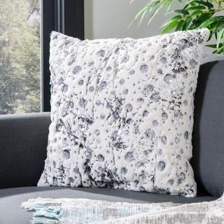 Safavieh Cosmos 20-inch White Decorative Pillows (Set of 2)