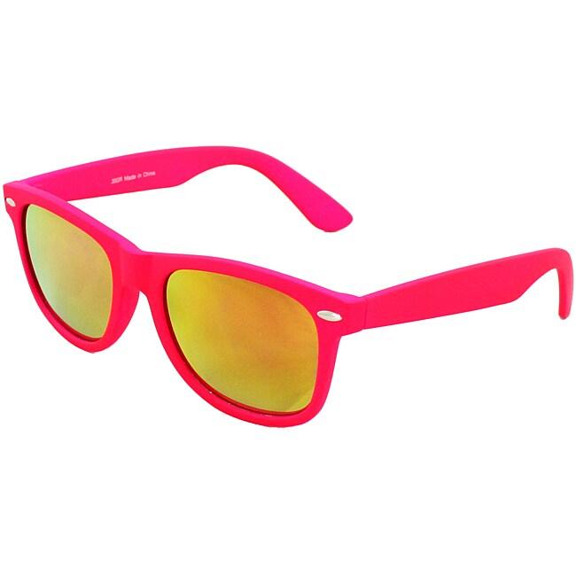 Unisex Pink Fashion Sunglasses