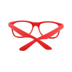 Unisex Red Fashion Sunglasses - Thumbnail 1
