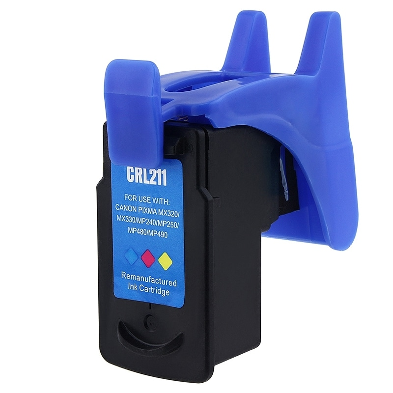 Insten Color Remanufactured Ink Cartridge Replacement for Canon CL-211/ 211