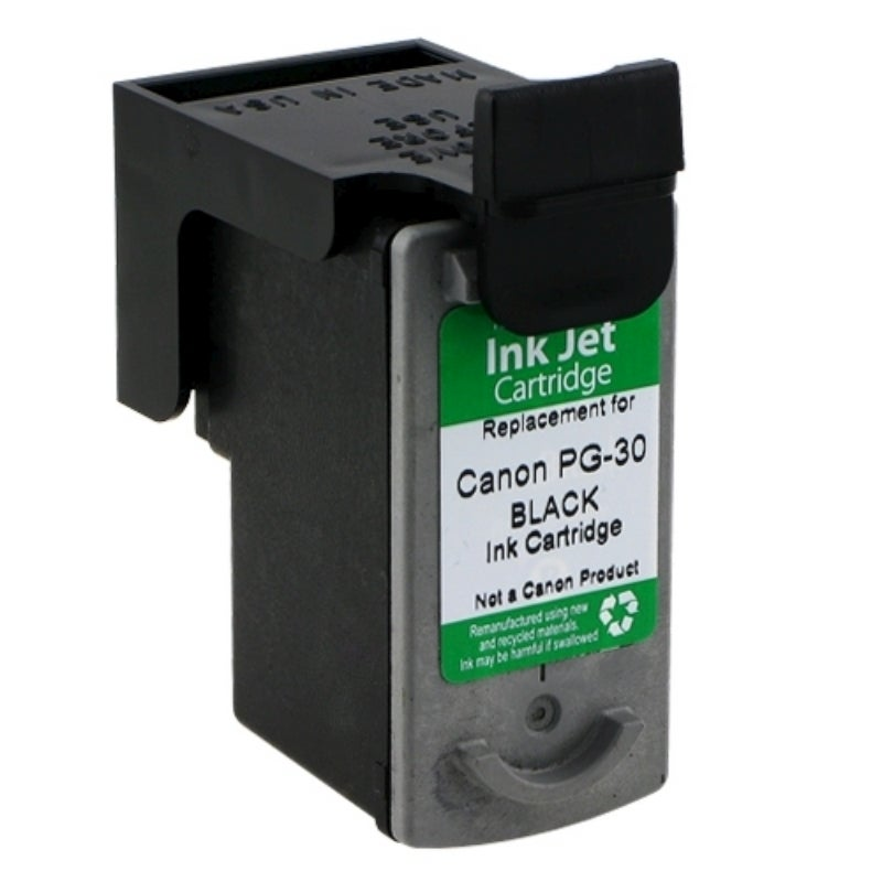 INSTEN Canon PG-30 Black Ink Cartridge (Remanufactured)