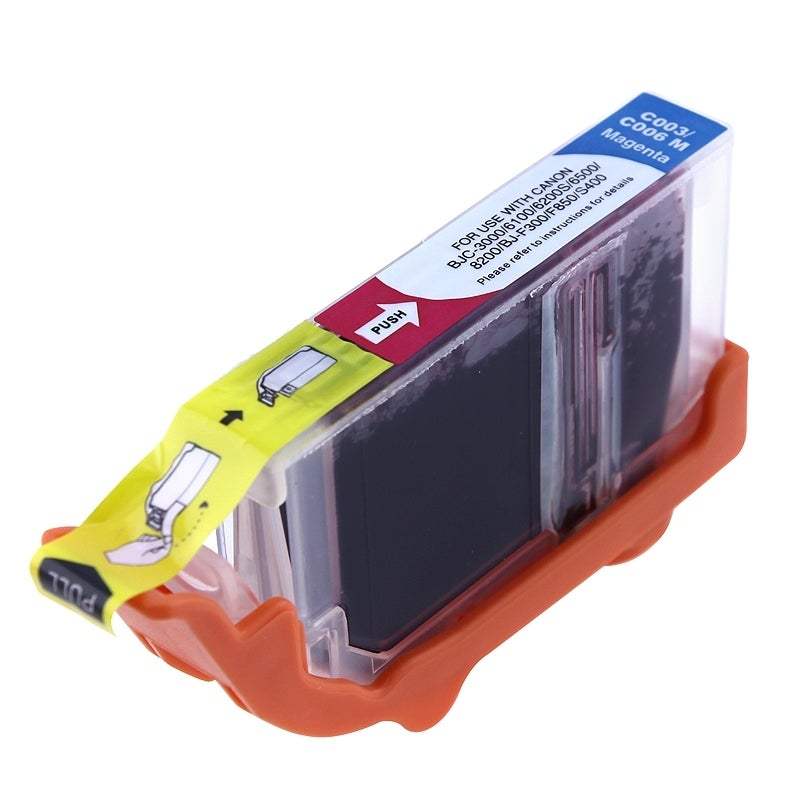 Insten Magenta Non-OEM Ink Cartridge Replacement for Canon BCI-5M/ BCI-6M/ BCI-3eM/ 5/ 6/ 3e M