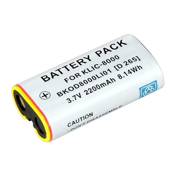 INSTEN Compatible Li-ion Battery for Kodak KLIC-8000