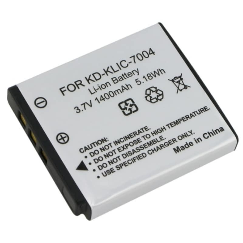 INSTEN Compatible Li-ion Battery for Kodak KLIC-7004/ Fuji/ Pentax