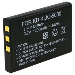 INSTEN Compatible Li-ion Battery for Kodak KLIC-5000