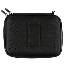 INSTEN Black Nylon Phone Case Cover with Inside Compartments for Garmin Nuvi 200W