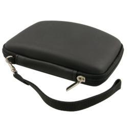 INSTEN Black Eva Hard Plastic Phone Case Cover for Garmin Nuvi 255W with Lanyard