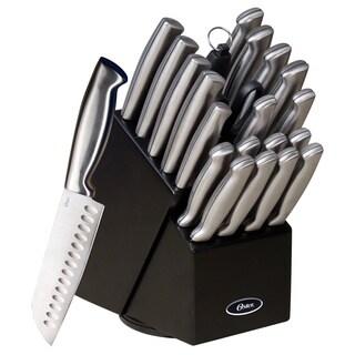 Oster Baldwyn 22-piece Stainless Steel Cutlery Block Set