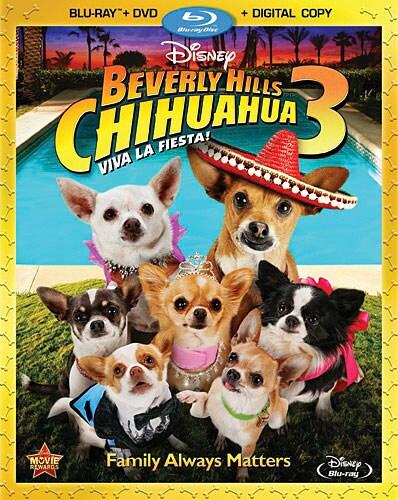 Beverly Hills Chihuahua 3 (Blu-ray/DVD)
