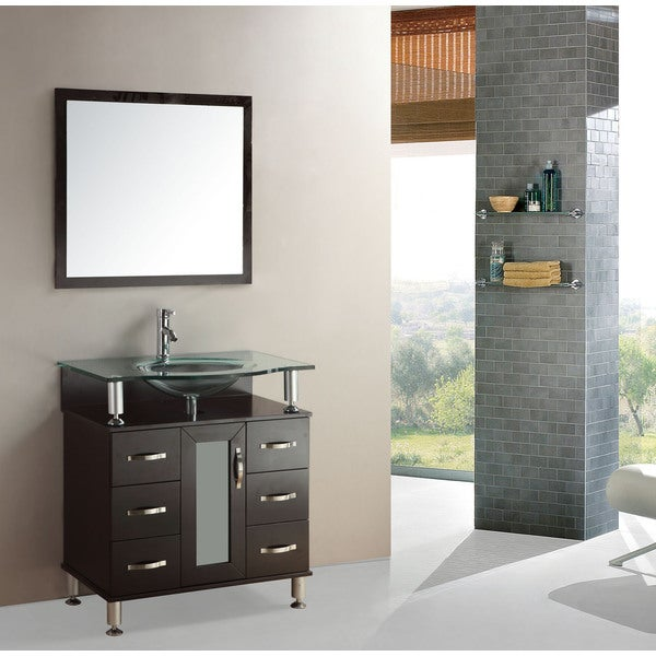 Kokols Modern Bathroom 32 Inch Vanity Cabinet Set Free Shipping Today 6643505