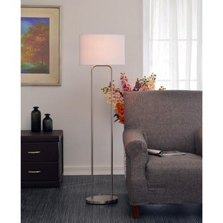 Stills 58-inch Brushed Steel Floor Lamp