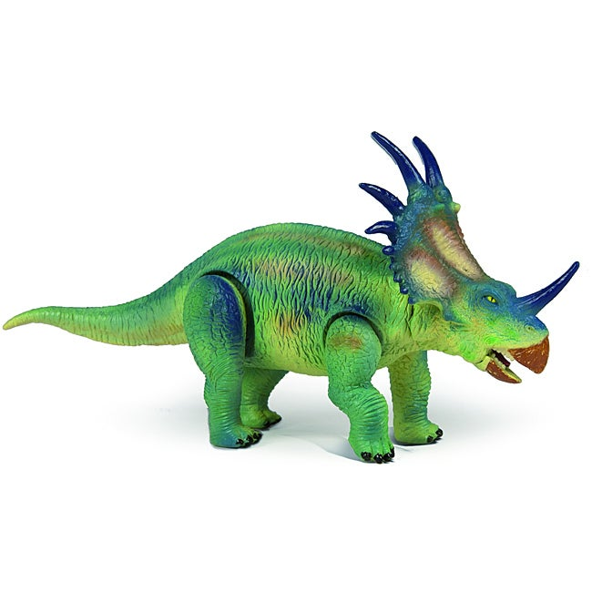 Dino Dan Medium Movable Styracosaurus Dinosaur Plastic Figure