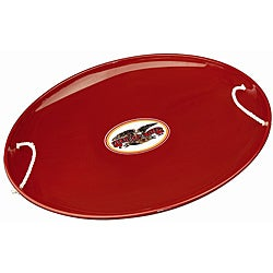 Flexible Flyer Red Steel Saucer Sled