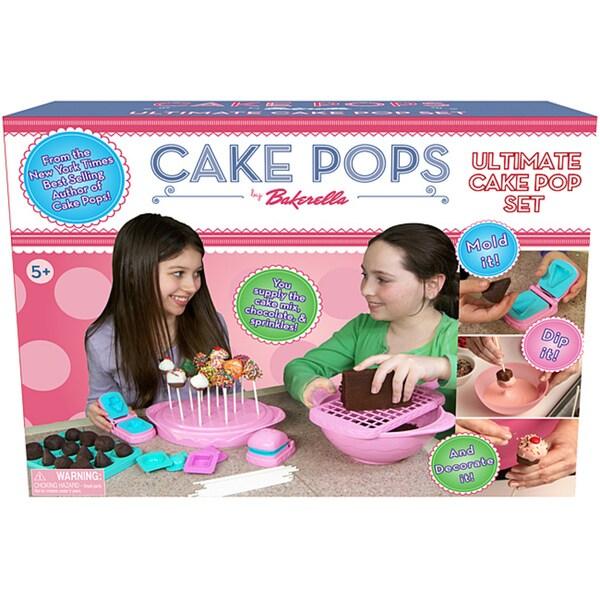 Cake Pop Kit Play Set