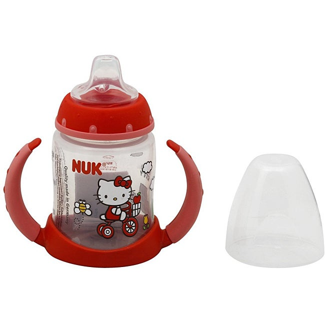 NUK Hello Kitty Silicone Spout 5-ounce Learner Cup