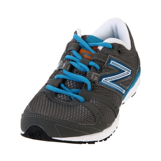 New Balance Women's 690 Silver/ Blue Athletic Shoes