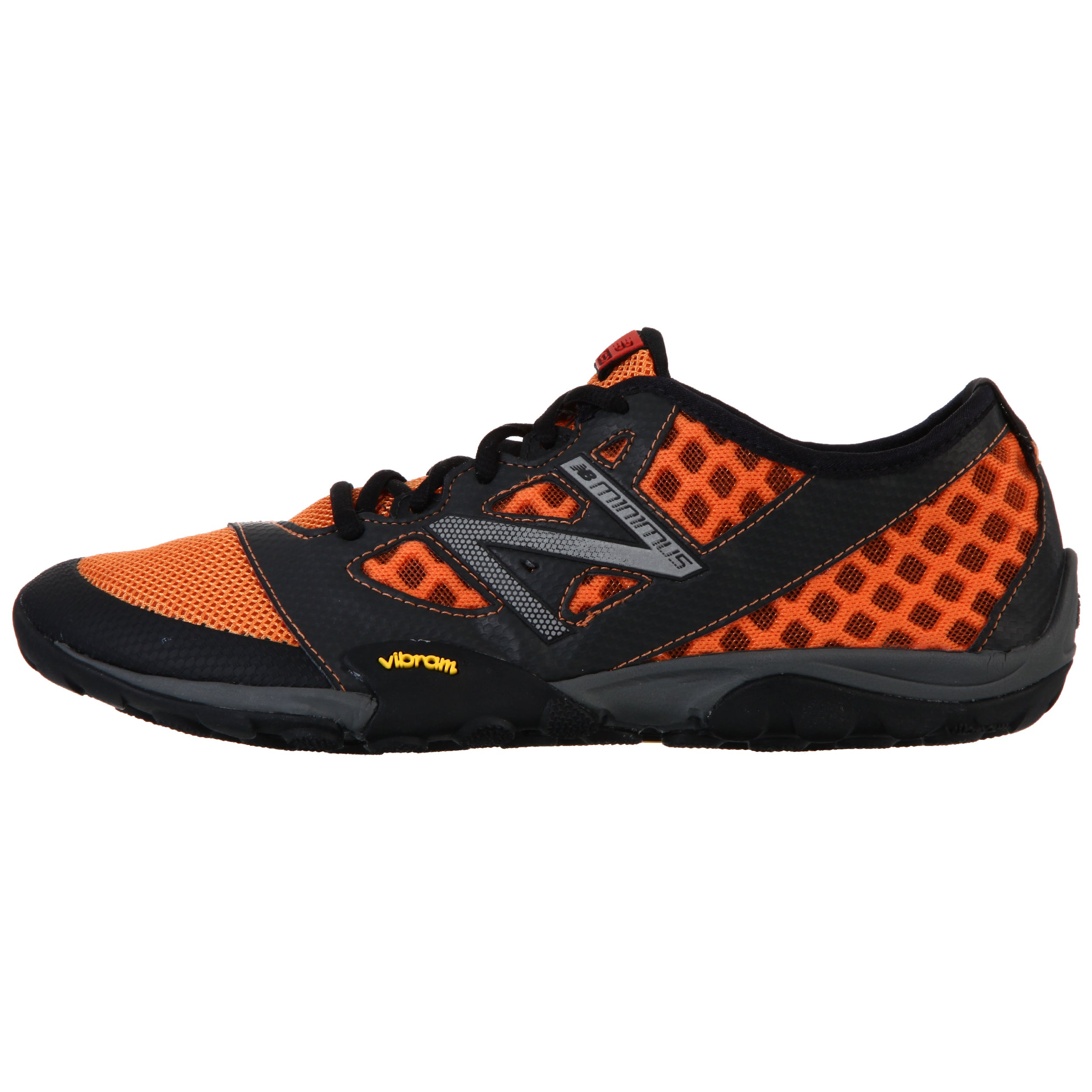 New Balance Men's 20 Orange Grey Minimus Trail Running Shoe